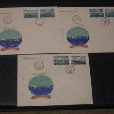 FDC ROMANIA 1979 NAVE MARITIME