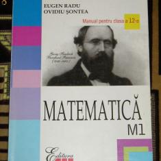 CC4 - MATEMATICA - ALL - CLASA A 12 -A - Manual scolar all, Clasa 12