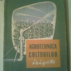 AGROTEHNICA CULTURILOR IRIGATE ~ VL.IONESCU-SISESTI * SP.BOERU * GH.ROSU - Carti Agronomie