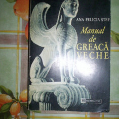 Manual de greaca veche-FELICIA STEF