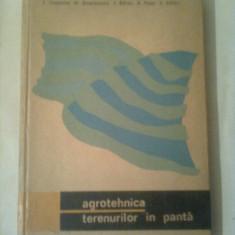 AGROTEHNICA TERENURILOR IN PANTA