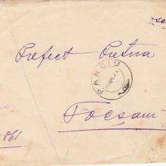 SCRISOARE EX OFO PANCIU -FOCSANI1906-STAMPILA ; PRAA 32
