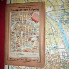 Harta Orasului Leipzig -inc.sec.XX