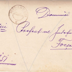 SCRISOARE EX OFO- MARASESTI-FOCSANI 1906 -STAMPILA  ;  PRAA 19