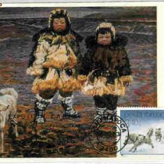 Ilustrata maxima fauna - caini - husky