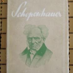 I Petrovici Schopenhauer SOCEC 1931 - Filosofie