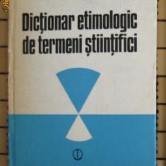 Nicolae Andrei Dictionar etimologic de termeni stiitifici (elemente de compunere greco-latine) Ed. st. si encicl. 1987