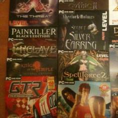 Jocuri PC calculator computer DVD-uri de la revista LEVEL 1 - Revista IT