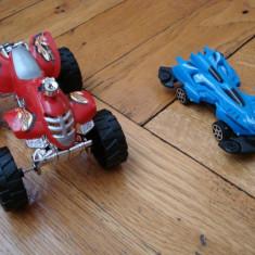Set colectie lot 4 Masinute plastic modele masini de curse