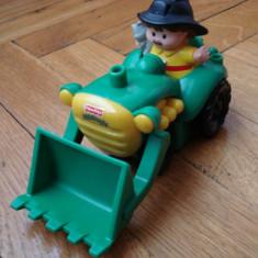 Excavator jucarie + figurina - Figurina Desene animate