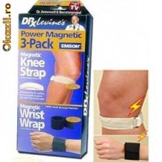 Benzi Magnetice Pentru Incheieturi si Genunchi de la Dr. Levine - produs TV