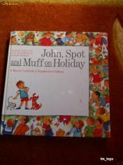 JOHN, SPOT, AND MUFF ON HOLIDAY [1986] [TIN] foto