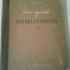 CURS SPECIAL DE ALGEBRA ELEMENTARA  ~  S.I.NOVOSELOV