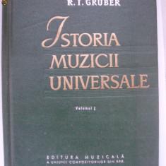 R. I. Gruber - Istoria muzicii universale (vol. I), Alta editura