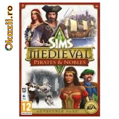 The Sims Medieval Pirates & Nobles PC - Jocuri PC Ea Games, 12+