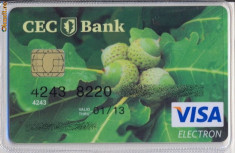 Card bancar CEC BANK 3 foto