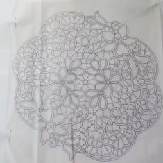 Schita mileu laseta cu flori