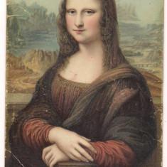 Carte postala-MONA LISA