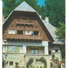 Carte postala-SINAIA-Vila Brindusa - Timbre Romania, Nestampilat
