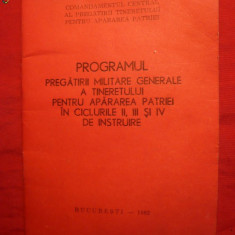 Program UTC de Pregatire Militara
