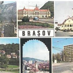 Carte postala-BRASOV- colaj