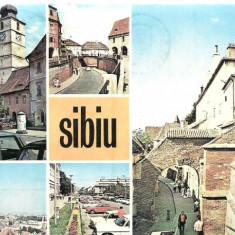 Carte postala- SIBIU-Colaj