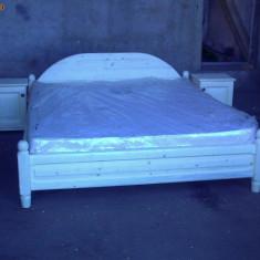 PAT DIN LEMN MASIV - Mobila dormitor