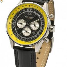 Ceas de lux Calvaneo 1583 Defcon Fiber CARBON Luxus Chronograph - Ceas barbatesc Calvaneo, Lux - elegant, Quartz