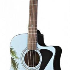 Chitara FENDER Moai Madness Tiki Acoustic - editie limitata - Chitara acustica