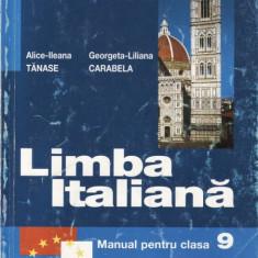 LIMBA ITALIANA CLS a IX a LIMBA 3 ED. LOGOS de ALICE-ILEANA TANASE - Manual scolar, Clasa 9, Limbi straine