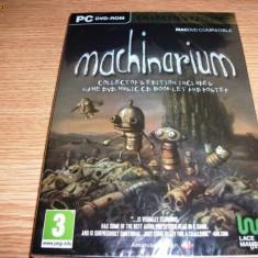 Joc Machinarium, Collectors Edition, PC, sigilat, 49.99 lei(gamestore)! - Jocuri PC Altele, Actiune, 3+, Single player