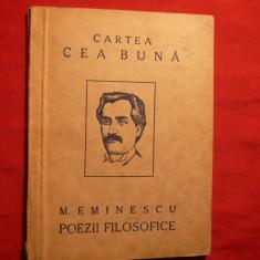 Mihail Eminescu - Poezii Filozofice 1923