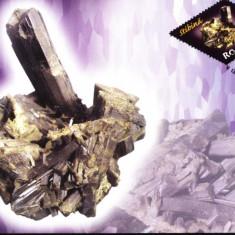 Maxima mineralul Stibina (sulfura de Stibiu)