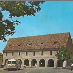 Carte postala- SIBIU - Casa Artelor - Carte Postala Transilvania dupa 1918