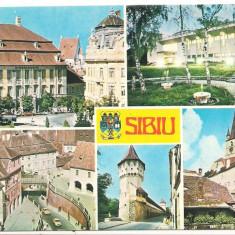 Carte postala- SIBIU -Colaj - Carte Postala Transilvania dupa 1918