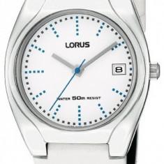 Lorus RG881BX9 ceas dama nou, 100% veritabil. Garantie.In stoc - Livrare rapida., Otel, Piele, Analog