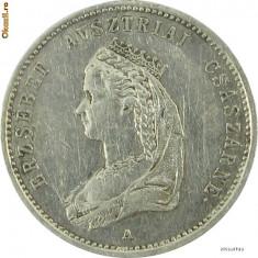 Jeton de incoronare Elisabeta (Sissi) ca si Regina a Ungariei 1867