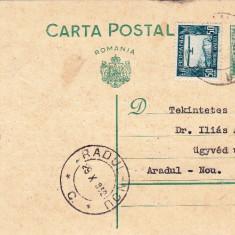 CARTE  POSTALA STAMPILA  PERIAM DR FRANCISC GRACZY PTR;DR ALADAR ILIAS ARADUL  NOU AN;1932 CPRO-166