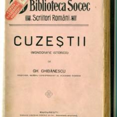 CUZESTII (Monografie istorica)