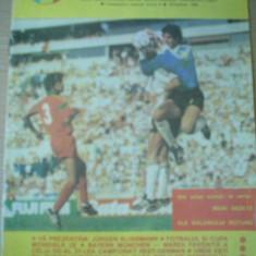 Program meci fotbal regia fotbalistica Sportul Studentesc U Craiova 1989 hobby