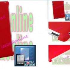 Toc silicon rosu + folie ecran  pentru apple ipad 2 Apple iPad 2 silicon gel