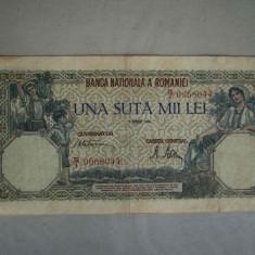 Bancnota 100000 lei 1 aprilie 1946/4 - Bancnota romaneasca
