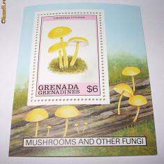 GRENADA 1989 - COLITA CIUPERCI - NEUZATA - Timbre straine