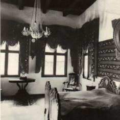 Ilustrata  Golesti - interior din Muzeu