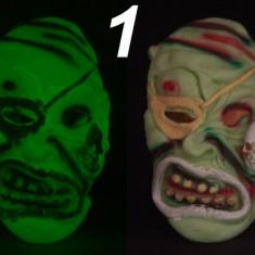 Masca glow fosforescenta, lumineaza in intuneric, gama diversificata - Costum Halloween