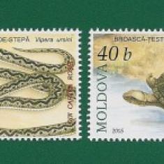 MOLDOVA-CATALOG MICHEL 524-527 - 4 VAL. - Timbre straine