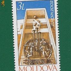 SERIE TIMBRE NESTAMPILATE-MOLDOVA-CATALOG MICHEL 429 - 1 VAL. - Timbre straine
