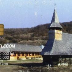 Cartela telefonica Manastiri 6 (Rom 155),2002