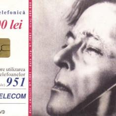 Cartela telefonica George Enescu (Rom 111),2001
