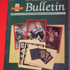 BRITISH PHILATELIC BULLETIN 1995. REVISTA FILATELIE